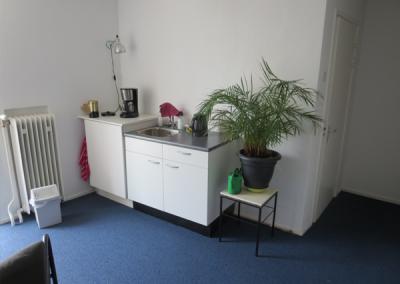 Praktijkruimte te huur Utrecht pantry